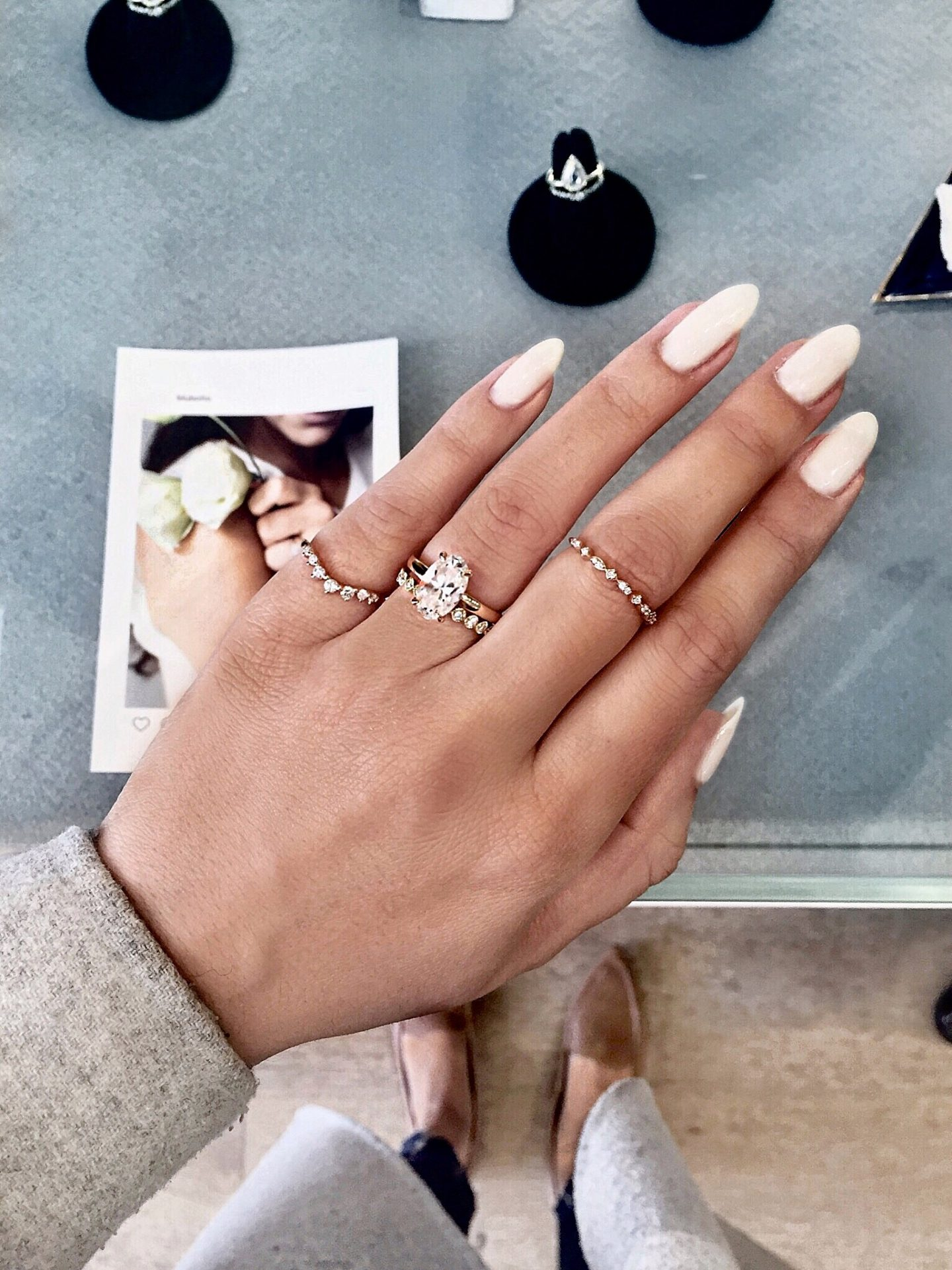 It is just an image of Wedding Band Style Deliberation - PEACHY VIDA